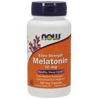 Melatonina 10mg 100 veg caps NOW Foods