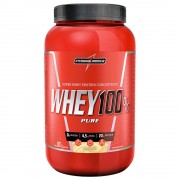 WHEY 100% PURE (907G) - INTEGRALMEDICA