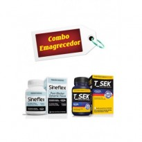 Combo Emagrecedor - Sineflex (150cápsulas) + T_Sek (120g) - Power Supplements