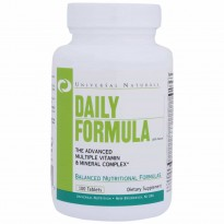 Daily Formula (100 tabletes) - Complexo Vitaminico - Universal