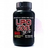 Lipo 600 Black (60 Caps) Red Series