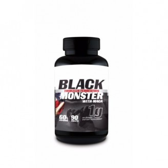 Tribulus Terrestris Black Monster 1000mg (90 Cápsulas) - Super Nutrition