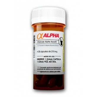 Alpha Axcell (30 cápsulas) - Power Supplements