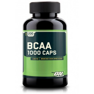 BCAA 1000 (200 cápsulas) - Optimumtermogenico