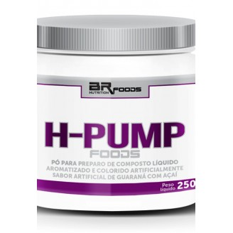 H-Pump Foods (250g - Guaraná c/ Açaí) - BRN Foodstermogenico