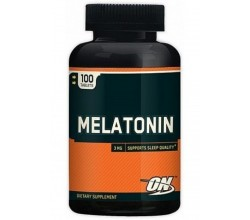 Melatonina 3mg (100 cápsulas) - Optimum Nutrition