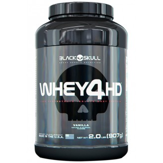 Whey 4HD (900g) - Black Skull