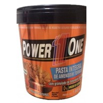 Pasta de Amendoim Crocante - Power One 1kg